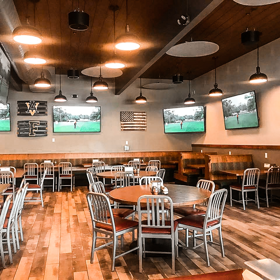 Porky's Pizza - Seating Area