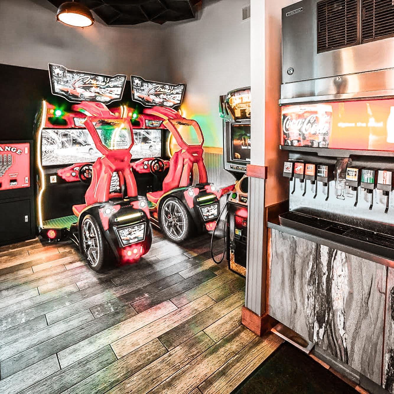 Porky's Pizza - Arcade Area