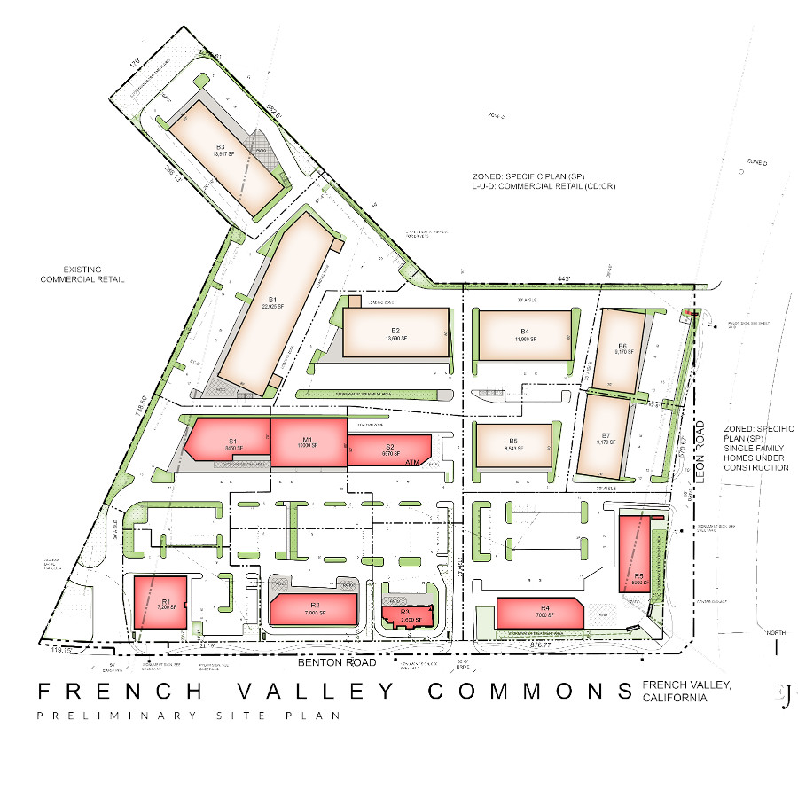 French Valley Site Rendition
